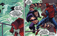 Nicolette Giroux (Earth-616) Andreas Zorba (Earth-616) Peter Parker (Earth-616) Peter Parker Spider-Man Vol 1 11