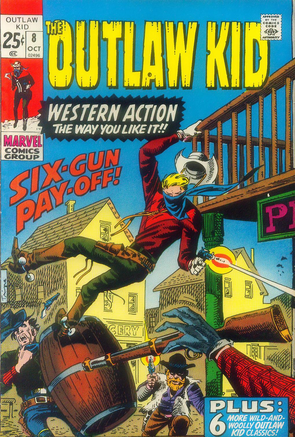 Outlaw Kid Vol 2 8