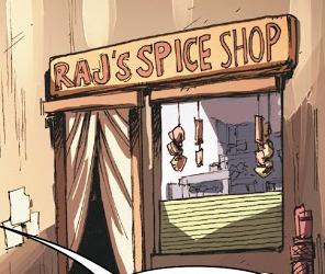 Raj's Spice Shop