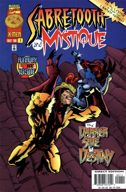 Sabretooth and Mystique Vol 1 1