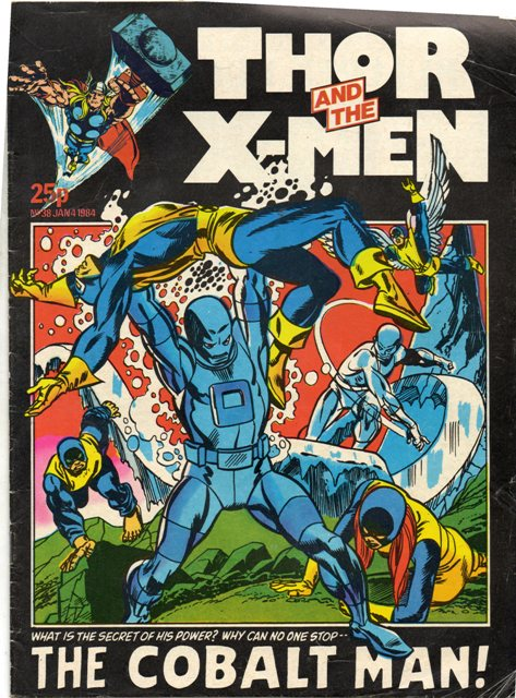 Thor and the X-Men (UK) Vol 1 38