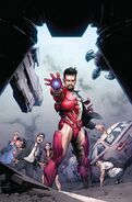 Tony Stark Iron Man Vol 1 4 Opeña Variant Textless