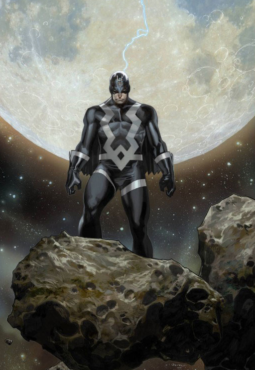 Black Bolt's Suit