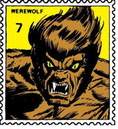 Werewolf by Night Marvel Value Stamp