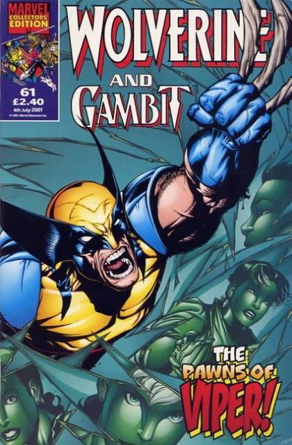 Wolverine and Gambit Vol 1 61
