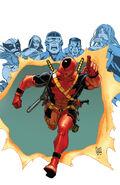 X-Men Legacy Vol 1 233 Deadpool Variant Textless