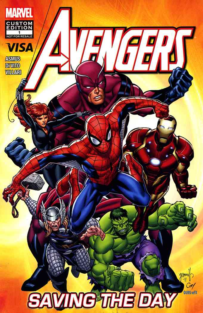 Avengers: Saving the Day Vol 1 1