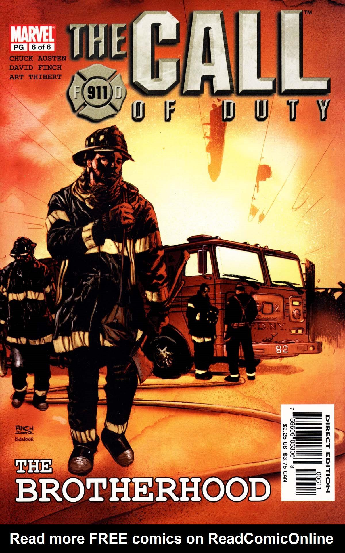 Call of Duty: The Brotherhood Vol 1 6