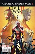 Civil War II Amazing Spider-Man Vol 1 1