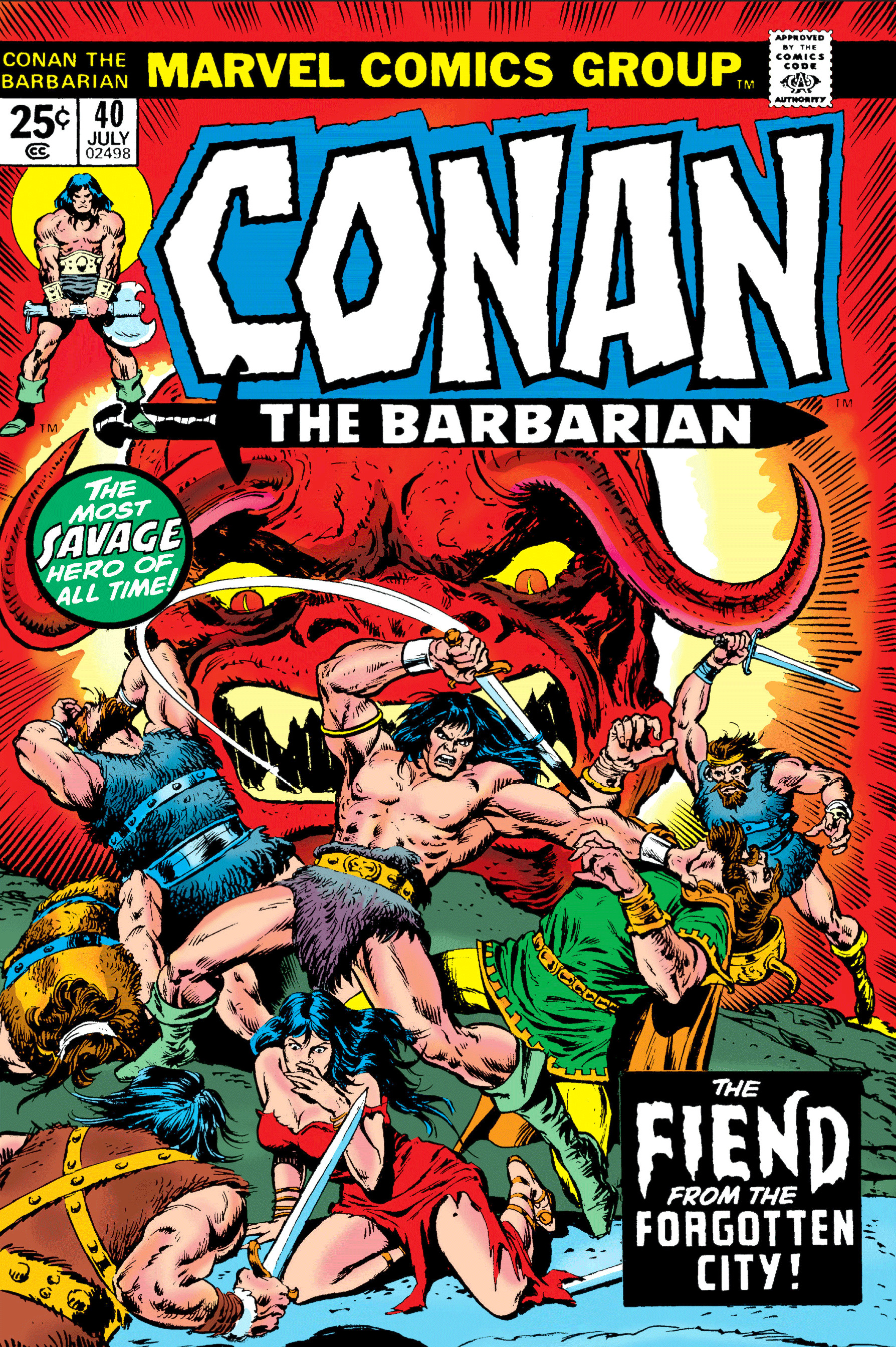 Conan the Barbarian Vol 1 40