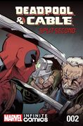 Deadpool & Cable Split Second Infinite Comic Vol 1 2