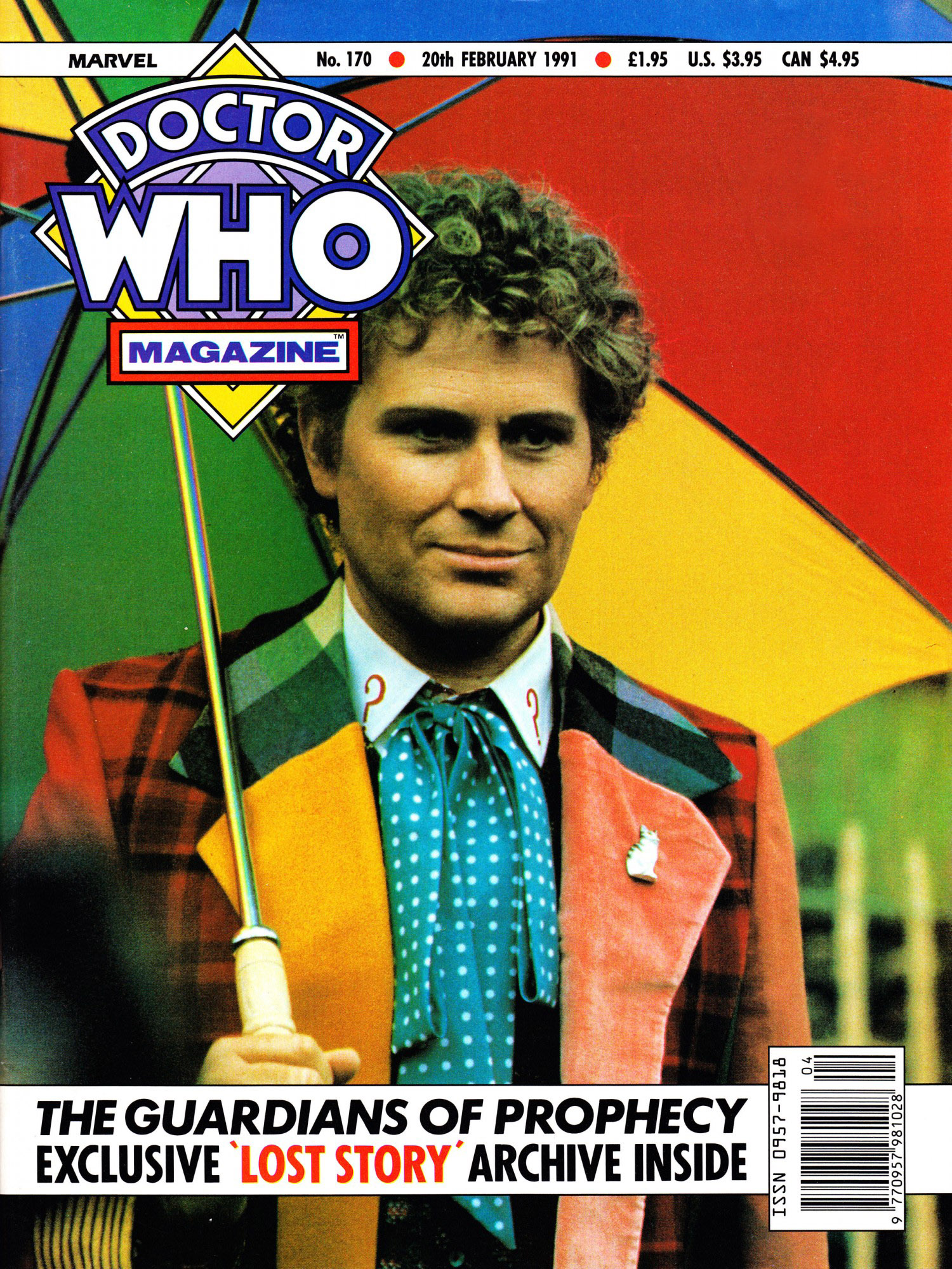 Doctor Who Magazine Vol 1 170