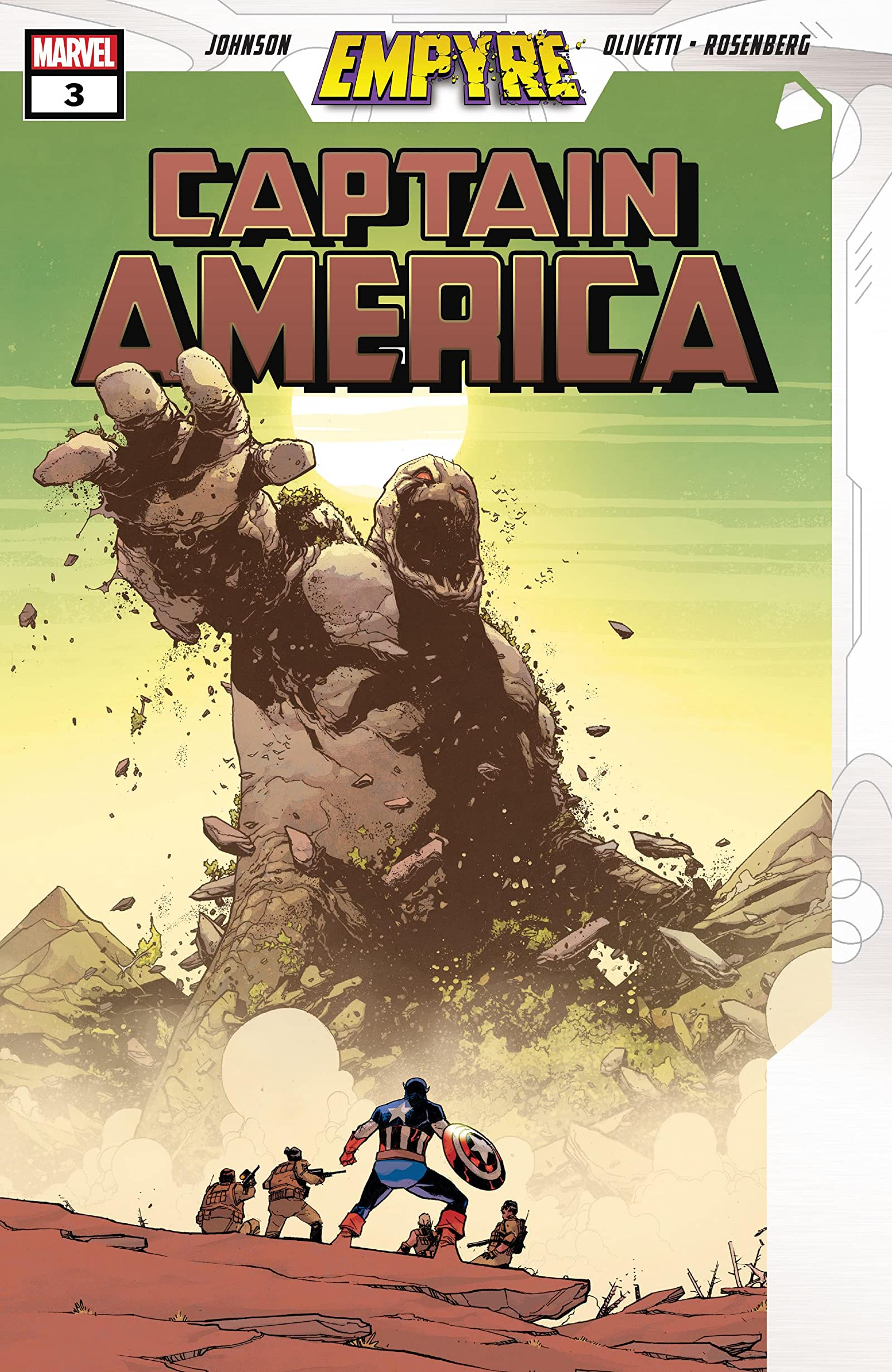 Empyre: Captain America Vol 1 3