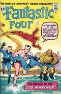 Fantastic Four Vol 1 4 Vintage