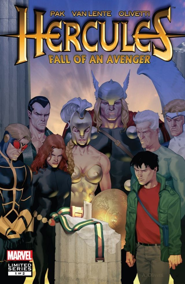 Hercules: Fall of an Avenger Vol 1 1