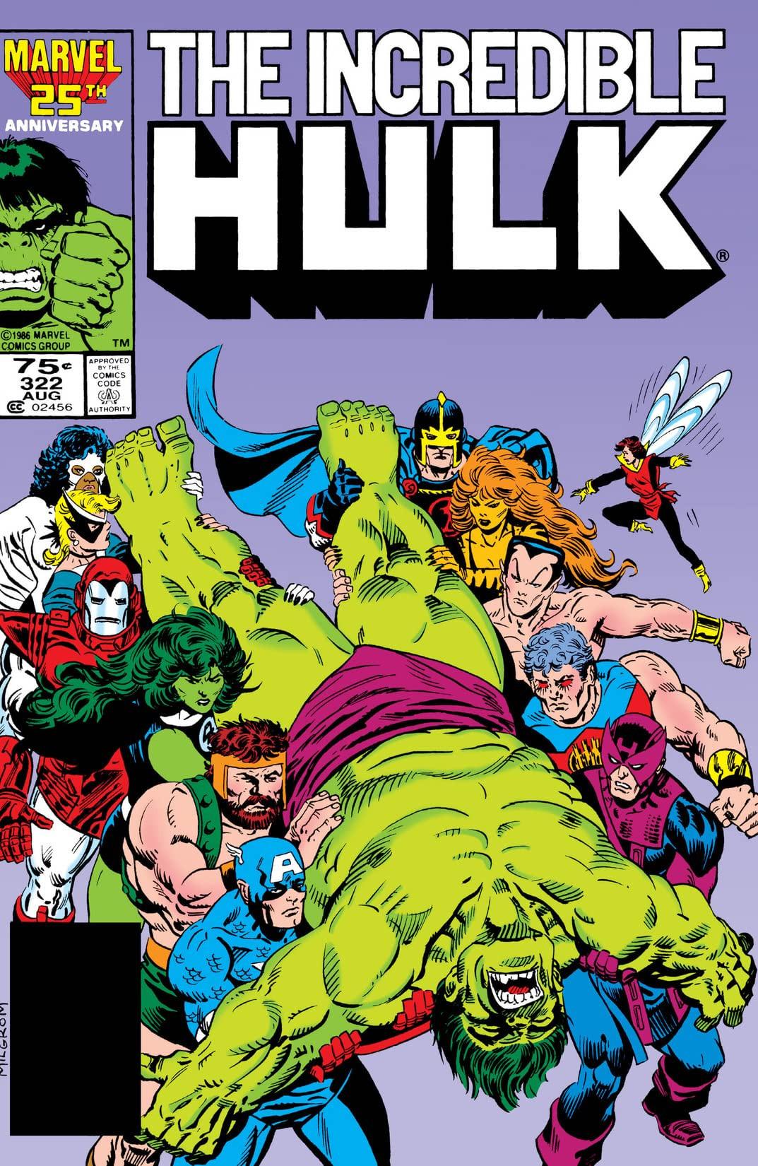 Incredible Hulk Vol 1 322