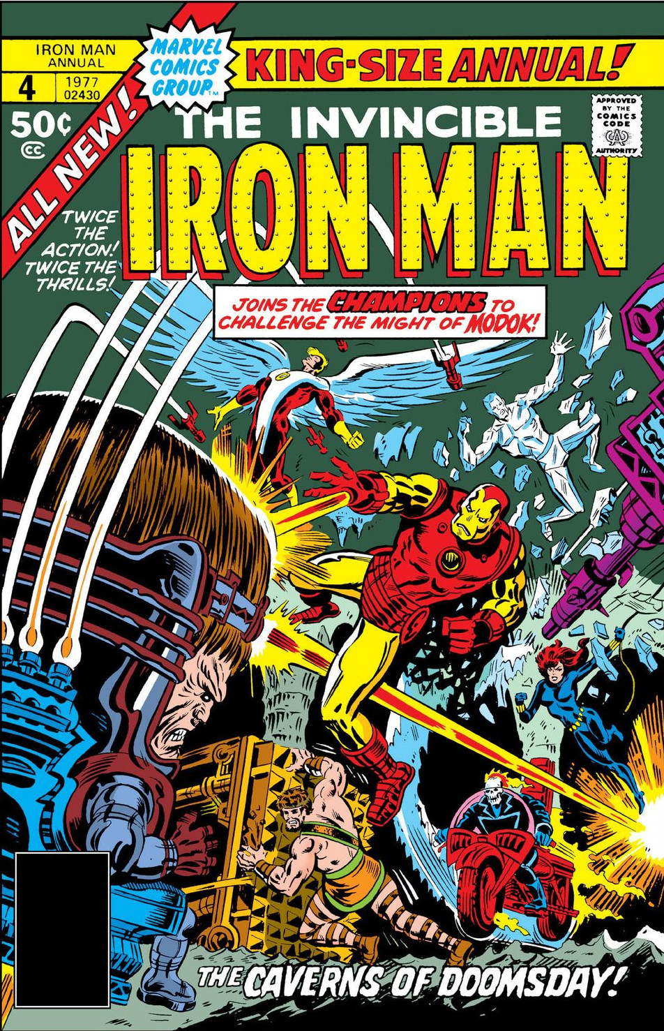 Iron Man Annual Vol 1 4