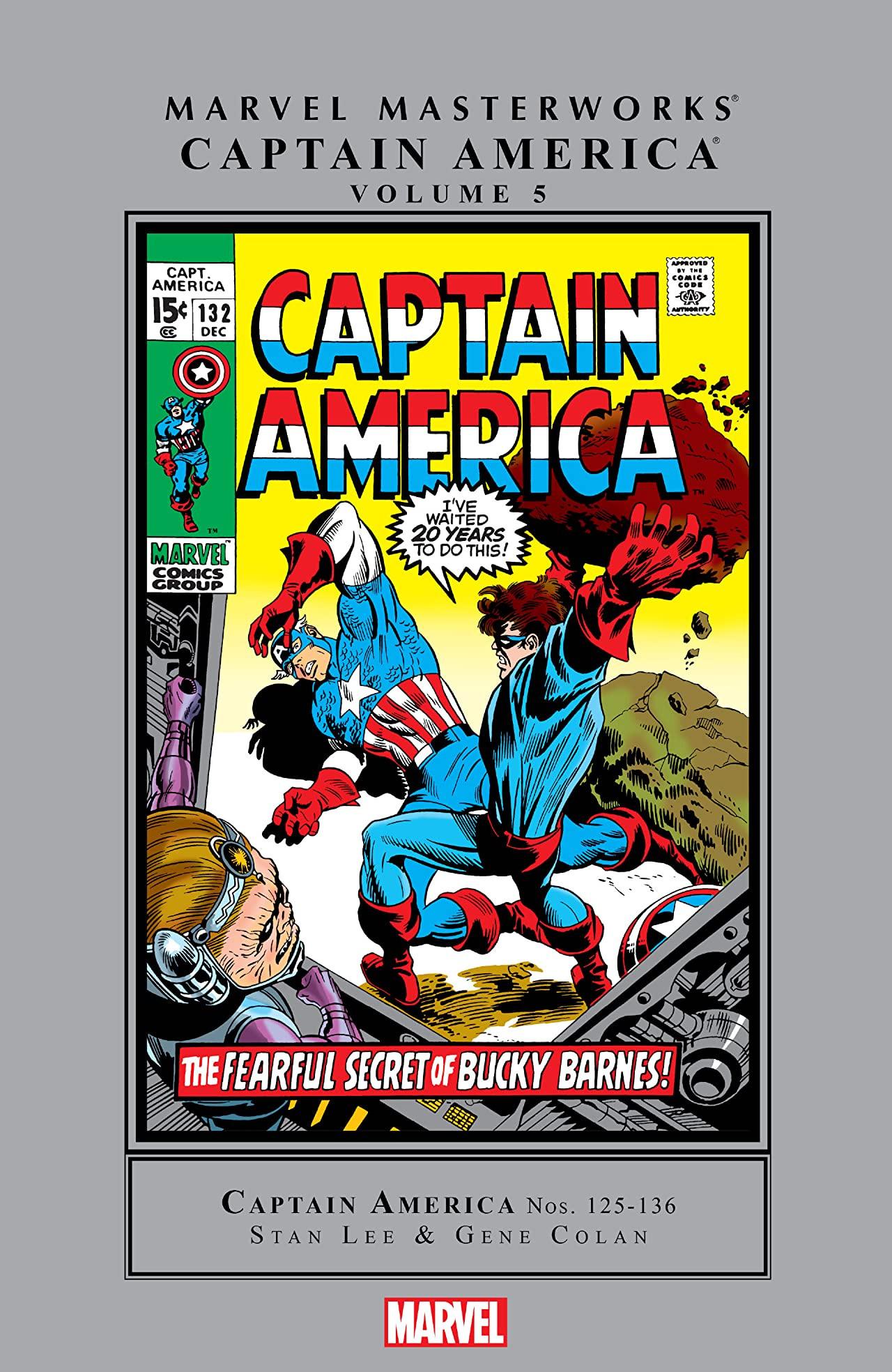 Marvel Masterworks: Captain America Vol 1 5