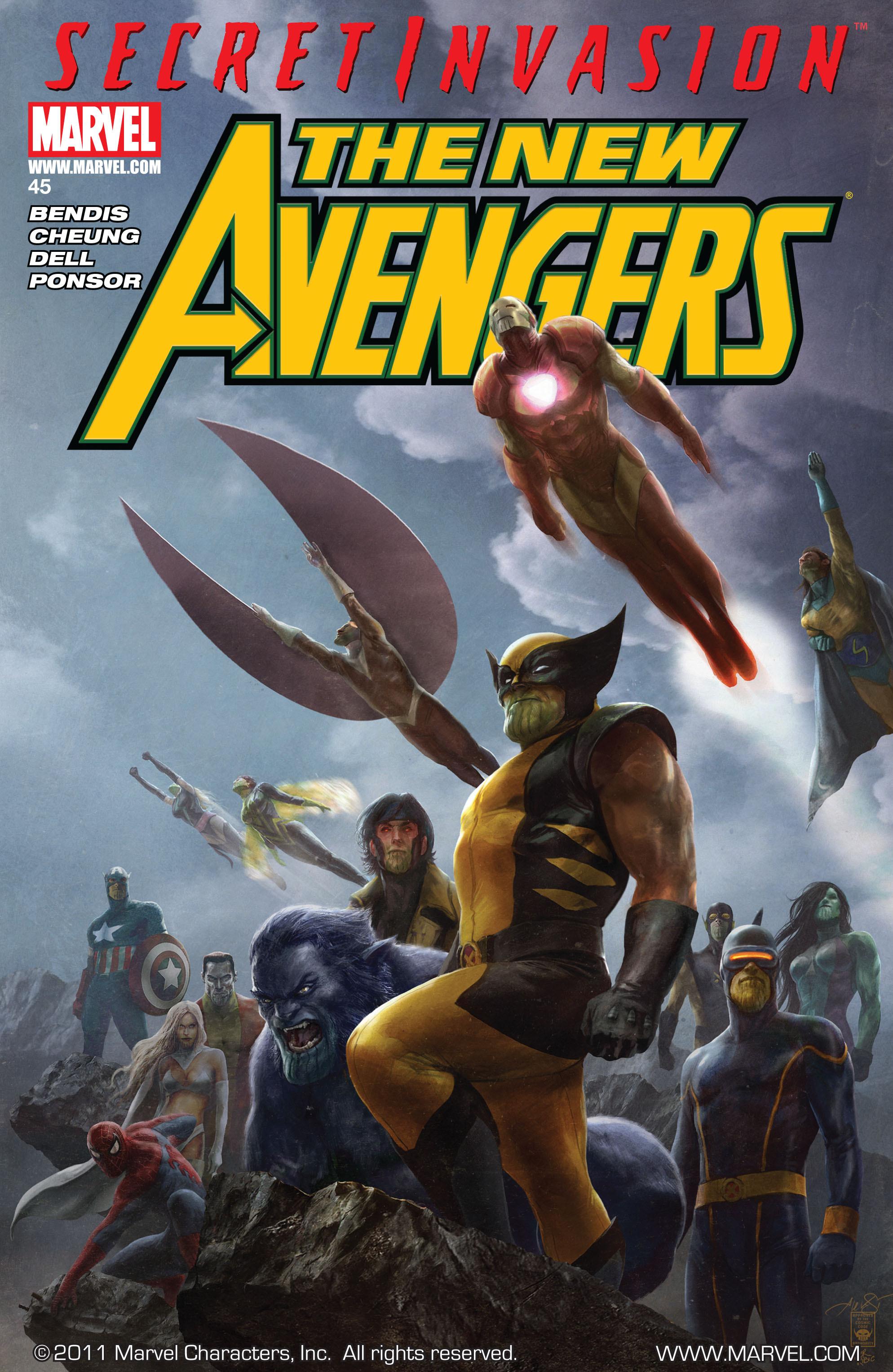 New Avengers Vol 1 45