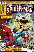 Peter Parker, The Spectacular Spider-Man Vol 1 49