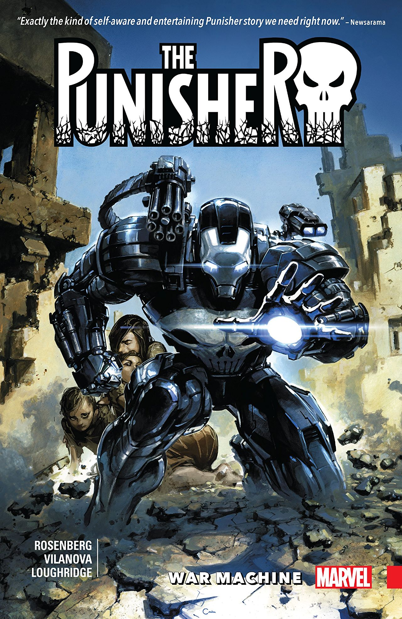 Punisher: War Machine Vol 1 1