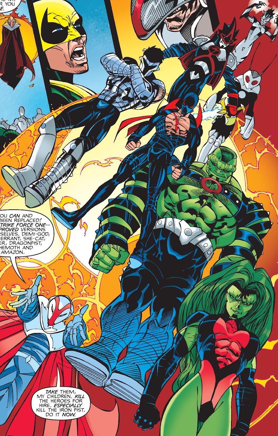 Strikeforce One (Earth-616)