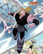 Thor Odinson (Earth-TRN874) from Thor & Loki Double Trouble Vol 1 1 001