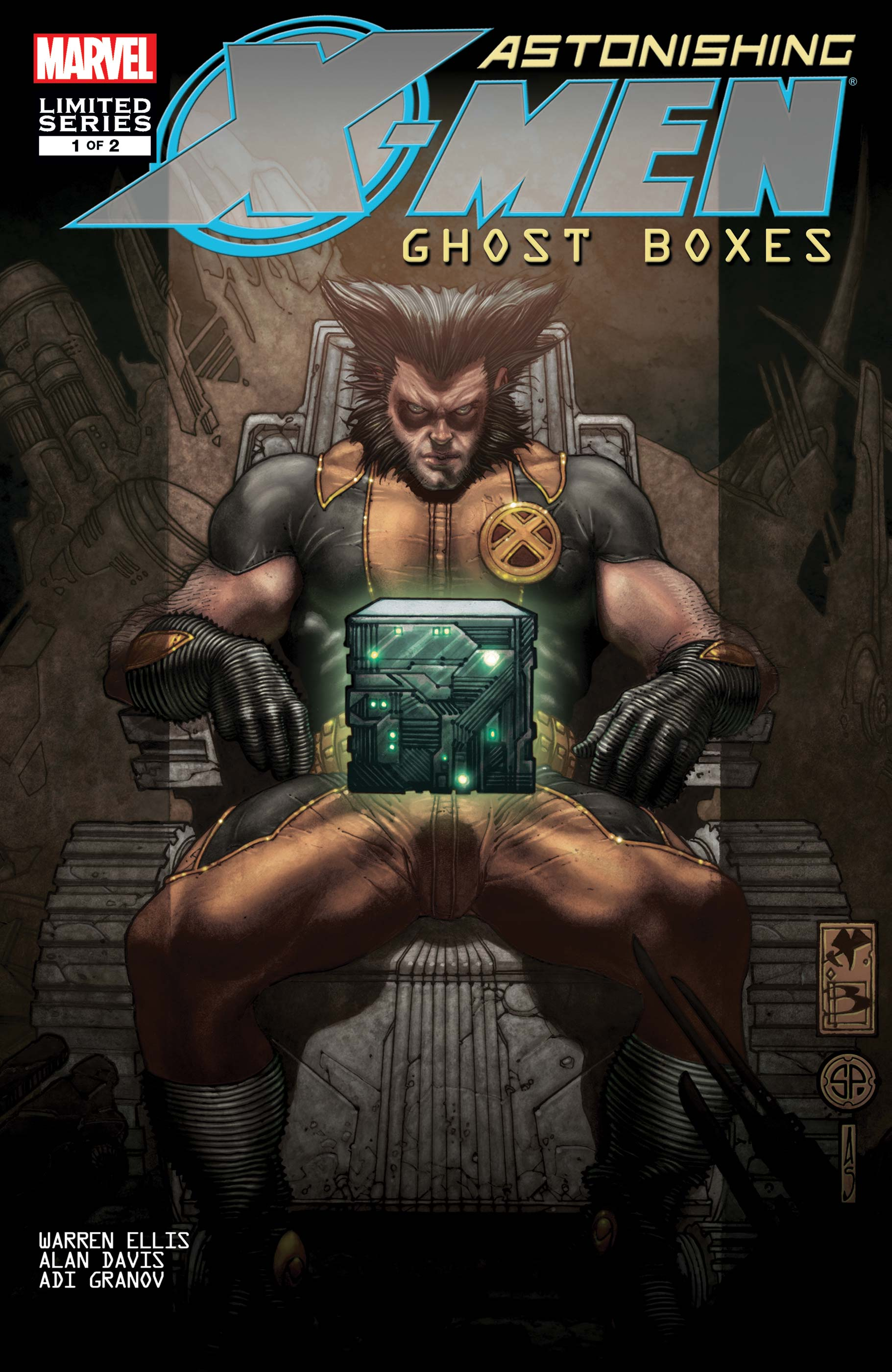 Astonishing X-Men: Ghost Boxes Vol 1 1