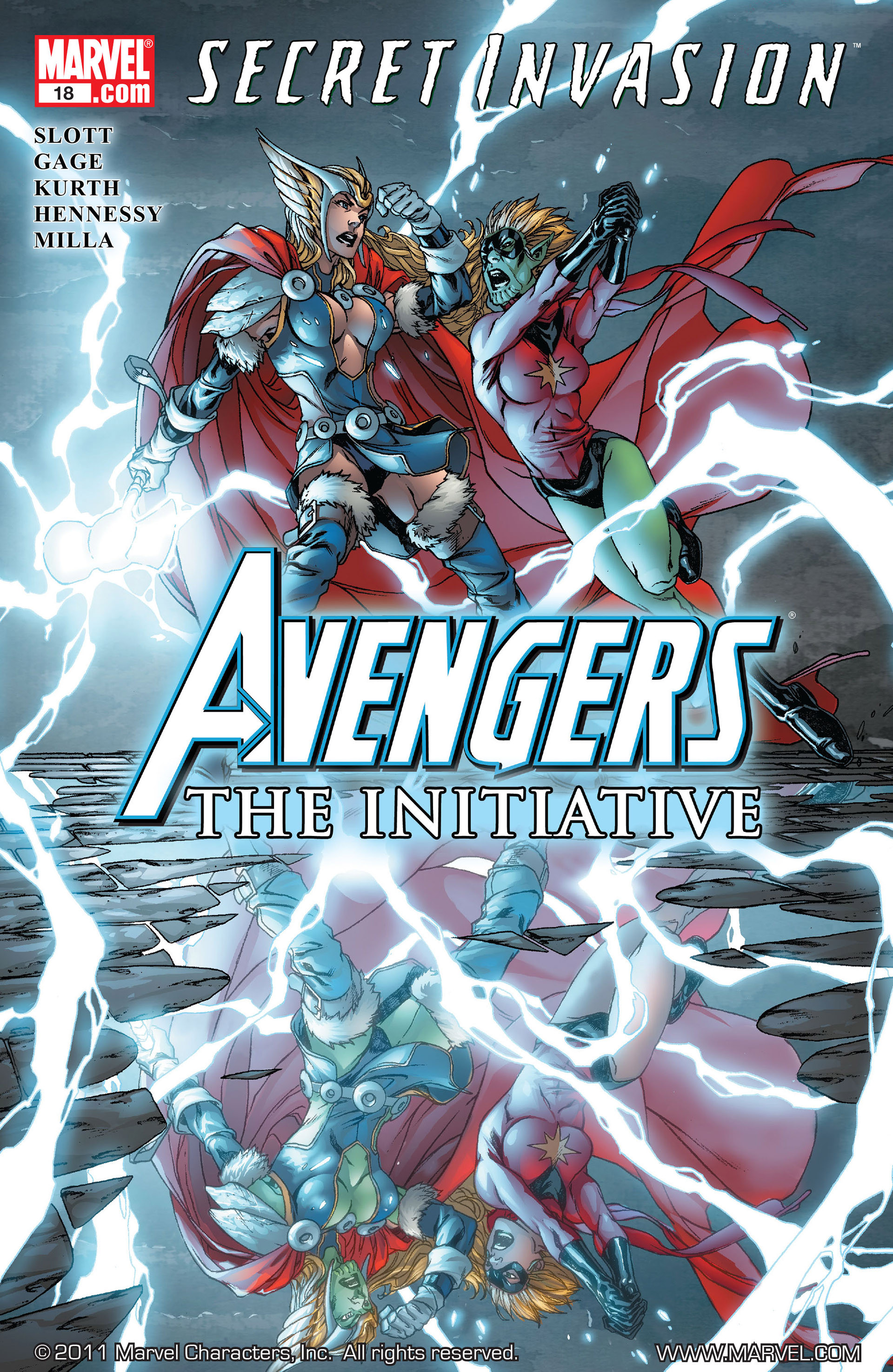 Avengers: The Initiative Vol 1 18