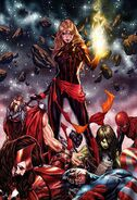 Captain Marvel Vol 10 12 Brooks Unmasked Virgin Variant