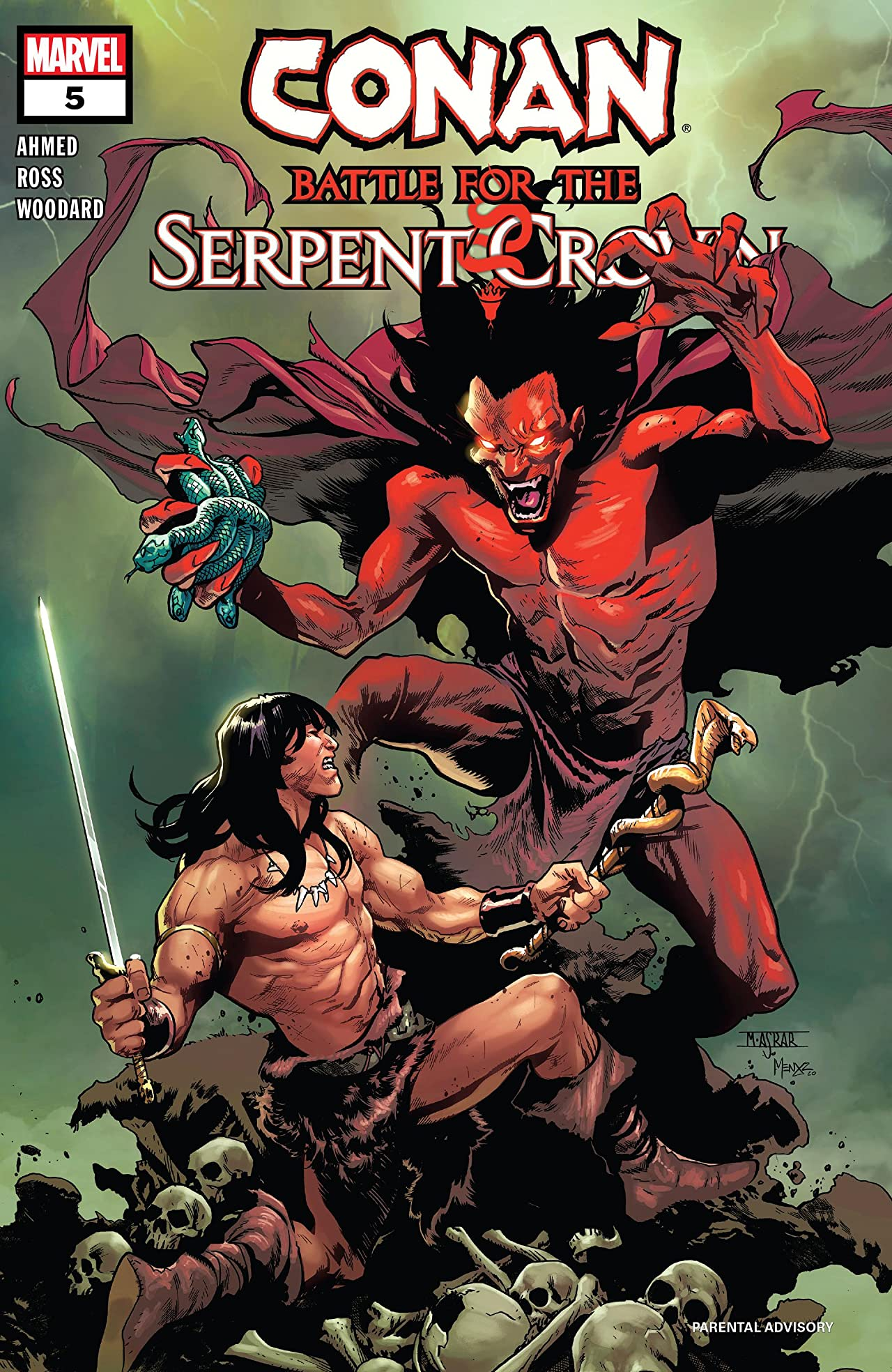 Conan: Battle for the Serpent Crown Vol 1 5
