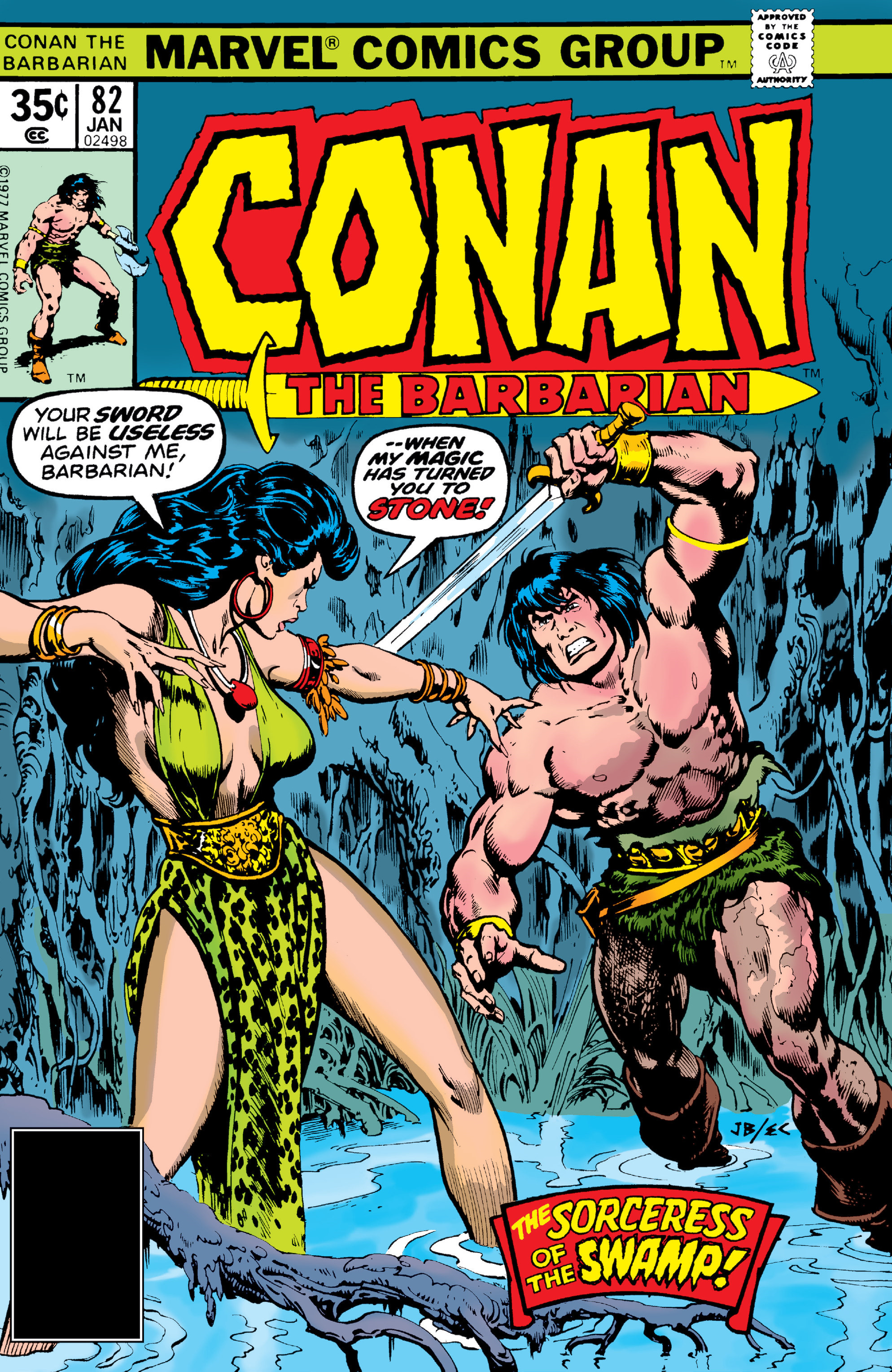 Conan the Barbarian Vol 1 82