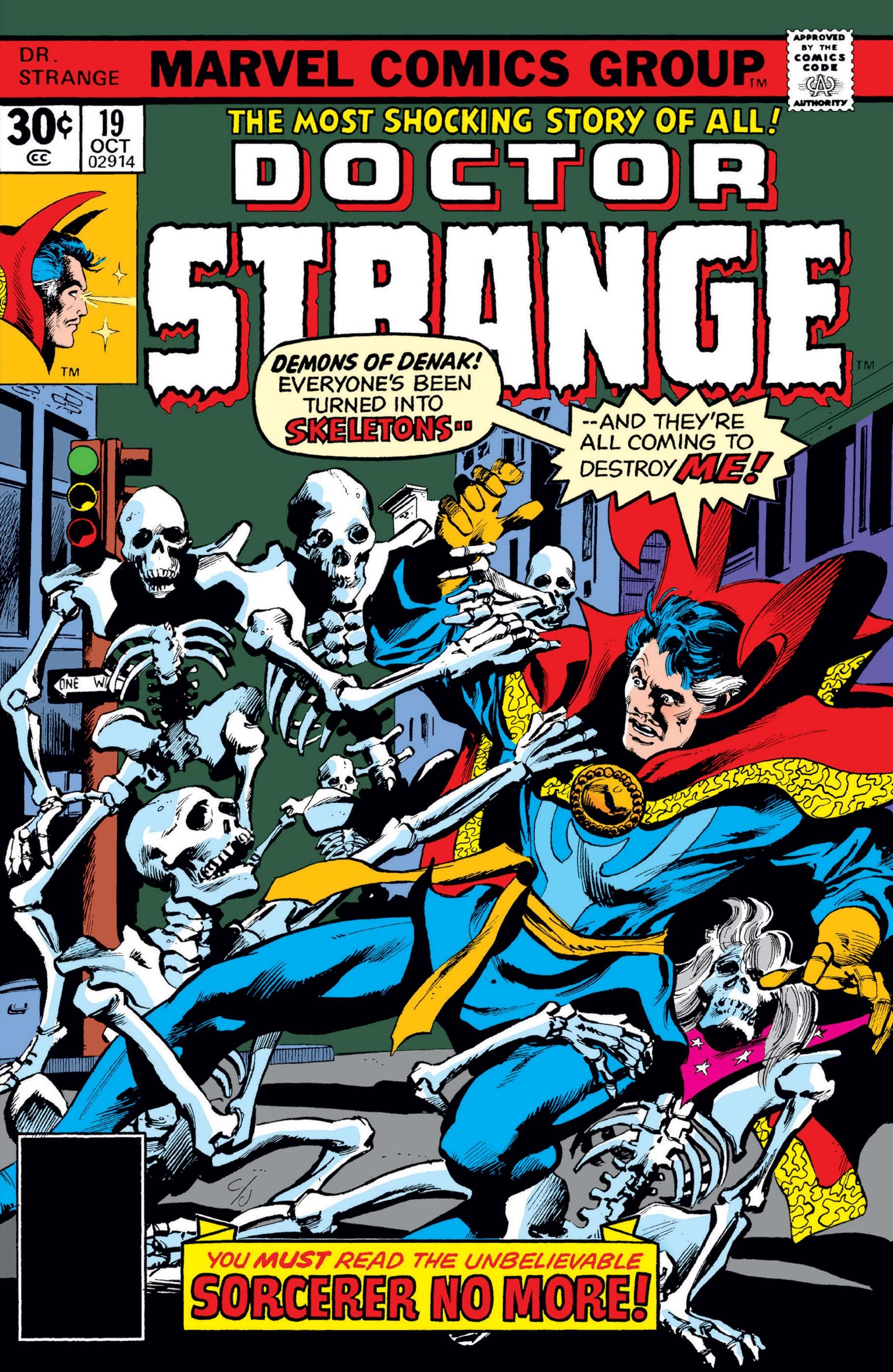 Doctor Strange Vol 2 19