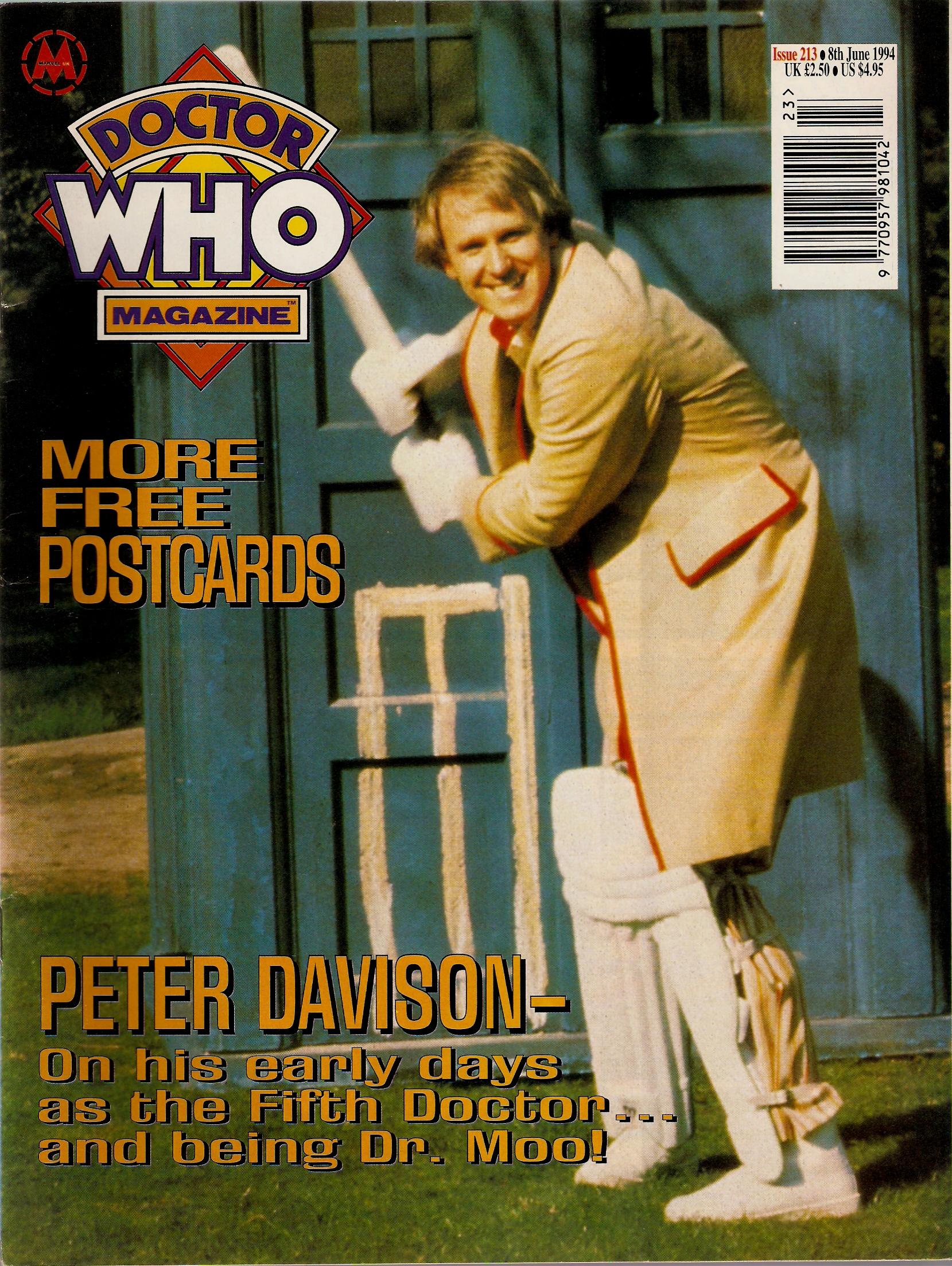 Doctor Who Magazine Vol 1 213