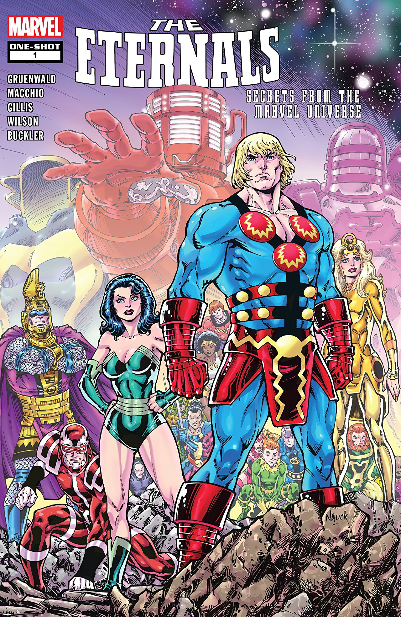 Eternals: Secrets from the Marvel Universe Vol 1 1