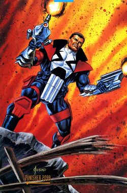Jacob Gallows (Earth-928) from 1993 Marvel Masterpieces (Trading Cards) 001.jpg