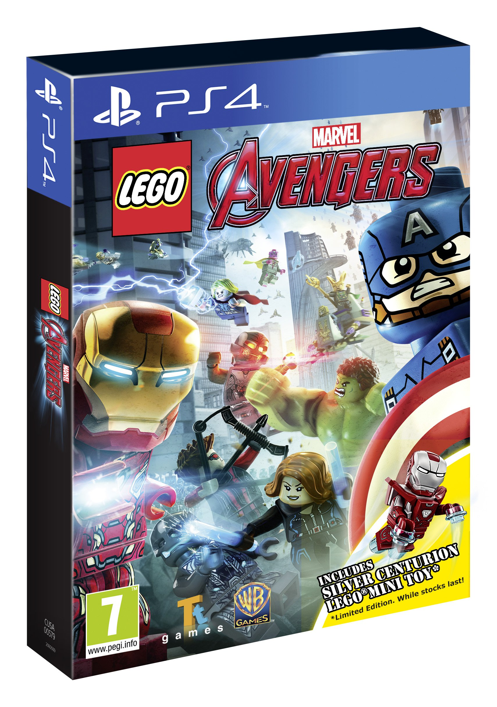 LEGO Marvel's Avengers box art and Iron Man Armor MK XXXIII (Earth-199999).jpg