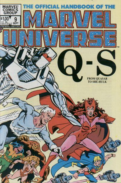 Official Handbook of the Marvel Universe Vol 1 9