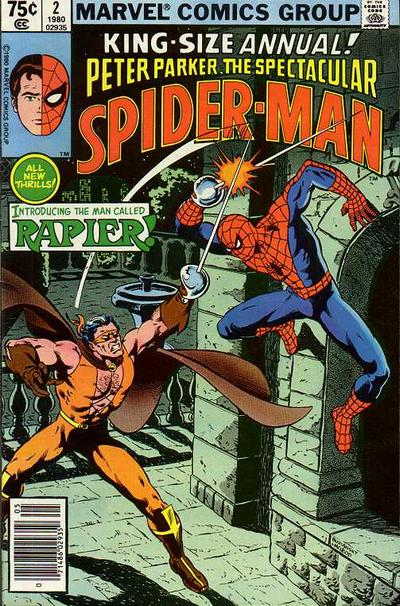 Peter Parker, The Spectacular Spider-Man Annual Vol 1 2