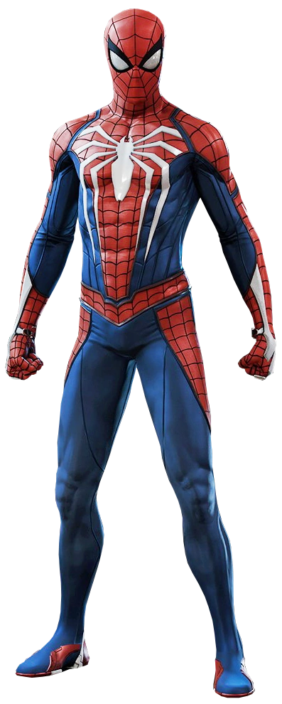 Spider-Man's Advanced Suit from Marvel's Spider-Man (video game) 001.png