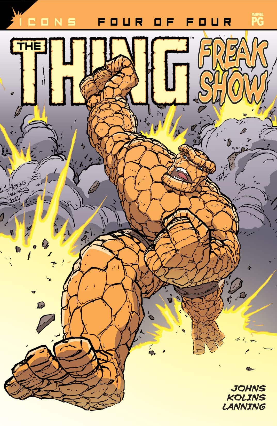 Thing: Freakshow Vol 1 4