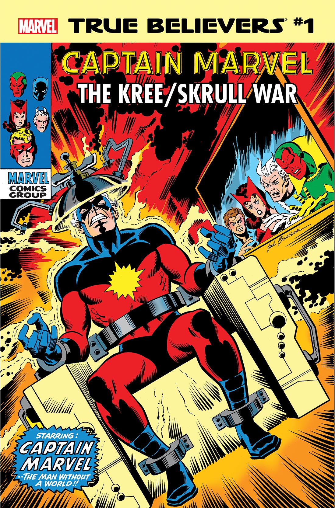 True Believers: Captain Marvel - The Kree/Skrull War Vol 1 1