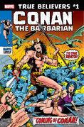 True Believers Conan the Barbarian Vol 1 1