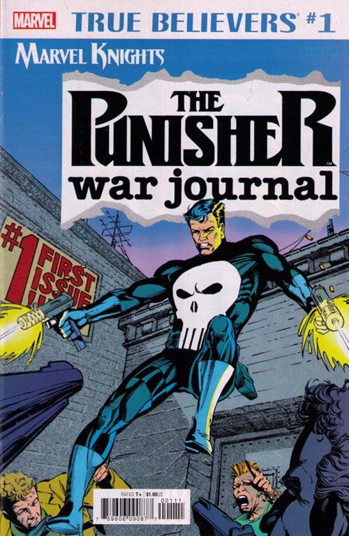 True Believers: Marvel Knights 20th Anniversary - Punisher War Journal by Potts & Lee Vol 1