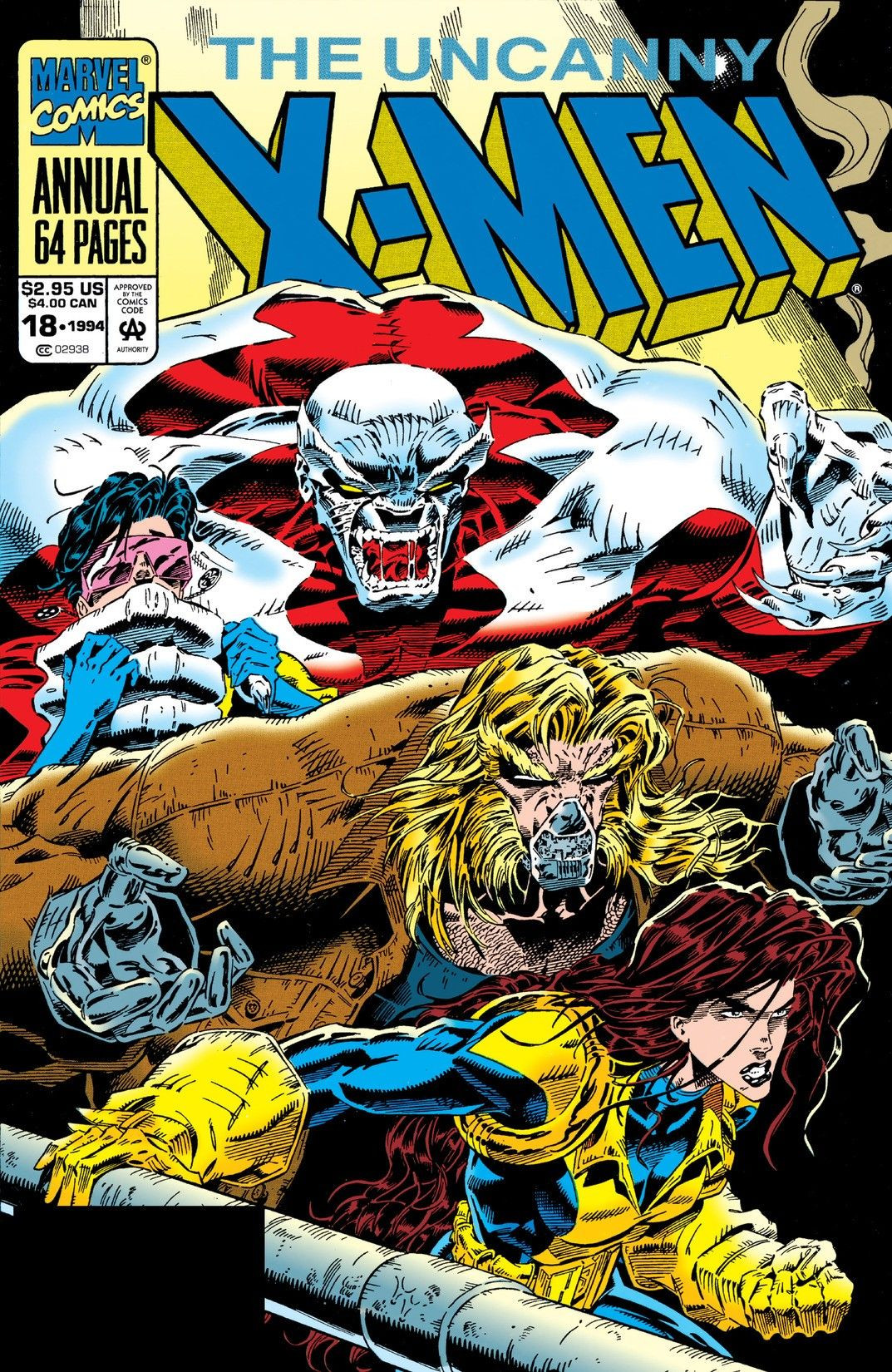 Uncanny X-Men Annual Vol 1 1994