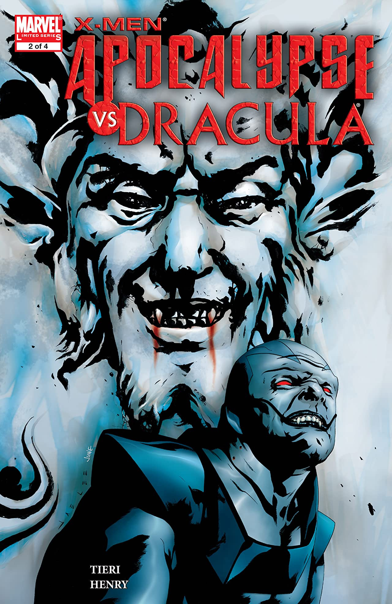 X-Men: Apocalypse vs. Dracula Vol 1 2