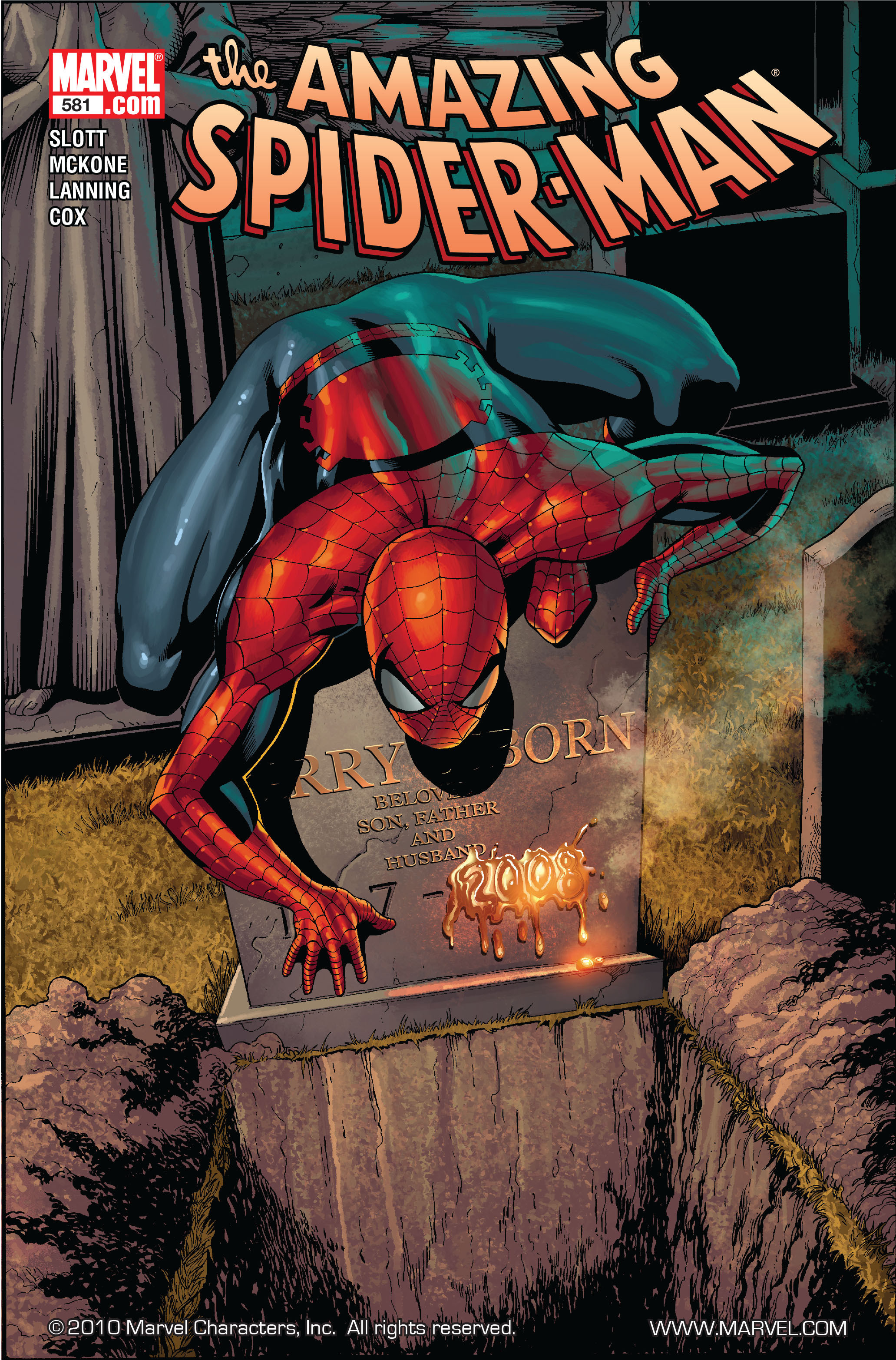 Amazing Spider-Man Vol 1 581