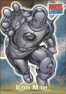 Anthony Stark (Earth-616) from Marvel Legends (Trading Cards) 0002