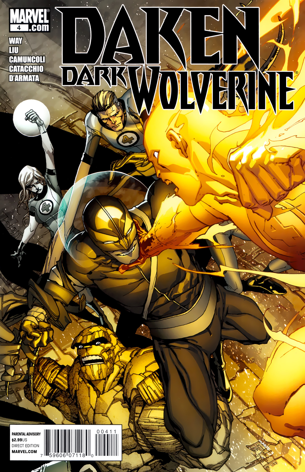 Daken: Dark Wolverine Vol 1 4