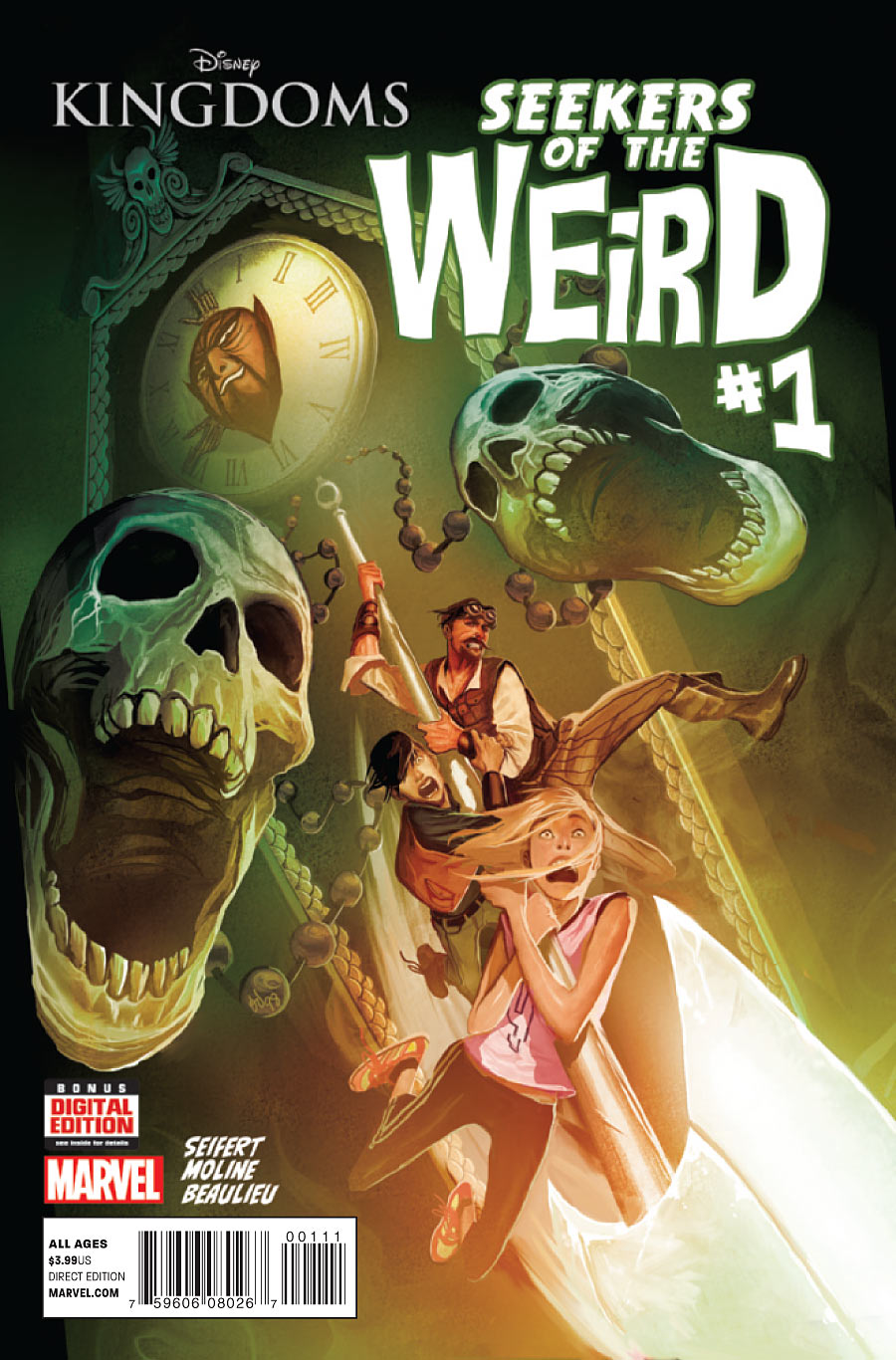 Disney Kingdoms: Seekers of the Weird Vol 1 1